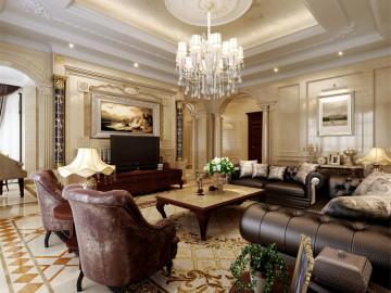 清风别墅装修欧式古典风格设计