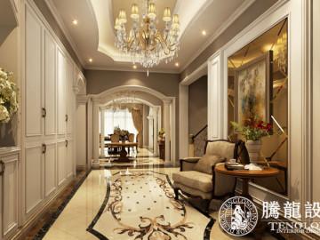 东郊紫园400平别墅欧式古典