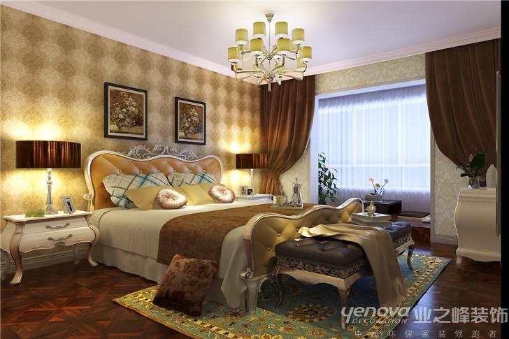 欧式 三居 简欧 卧室图片来自太原业之峰诺华装饰杨丽茹在简雅欧情的分享