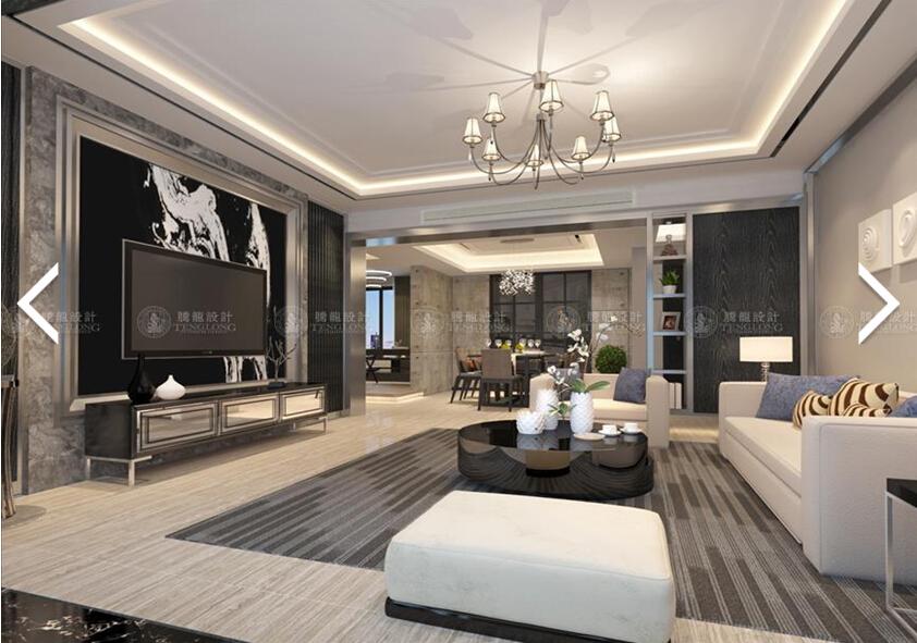 森兰明佳 装修设计 现代风格 腾龙刘真桢 客厅图片来自许 文斌在森兰名佳三房装修设计方案的分享