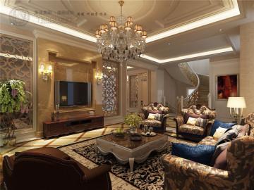 白金院邸别墅装修新欧式风格