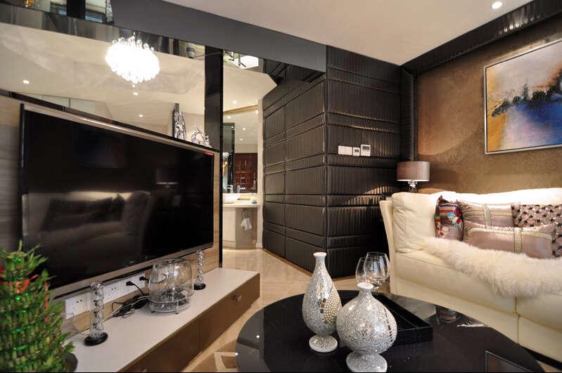 简约 欧式 田园 混搭 四居室 白领 80后 小资 客厅图片来自成都V2装饰在华侨城原岸时尚混搭风格的分享