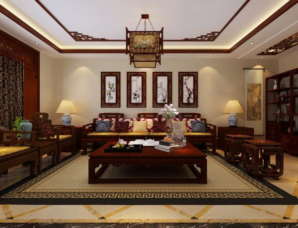 客厅整体设计效果展示