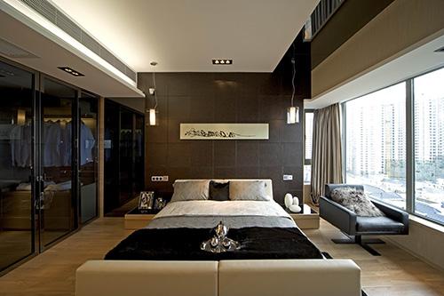 小资 别墅 白领 卧室图片来自上海本意空间建筑装饰有限公司在领秀城国际旅游度假社区的分享