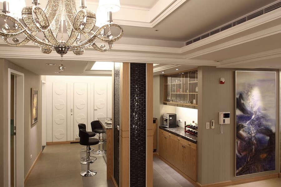简约 新古典 四居室 白领 80后 小资 厨房图片来自成都V2装饰在九号公馆新古典风格的分享