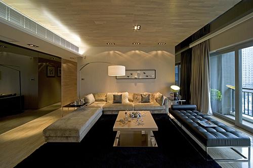 小资 别墅 白领 客厅图片来自上海本意空间建筑装饰有限公司在领秀城国际旅游度假社区的分享