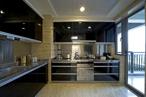 小资 别墅 白领 厨房图片来自上海本意空间建筑装饰有限公司在领秀城国际旅游度假社区的分享