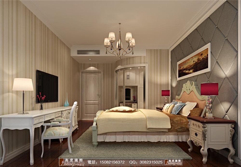 高度国际 新房装修 成都装修 现代风格 卧室图片来自成都高端别墅装修瑞瑞在现代简约感----高度国际装饰设计的分享