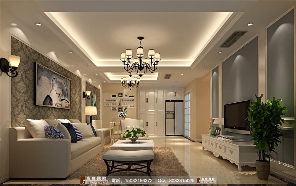 高度国际 新房装修 成都装修 现代风格 客厅图片来自成都高端别墅装修瑞瑞在现代简约感----高度国际装饰设计的分享