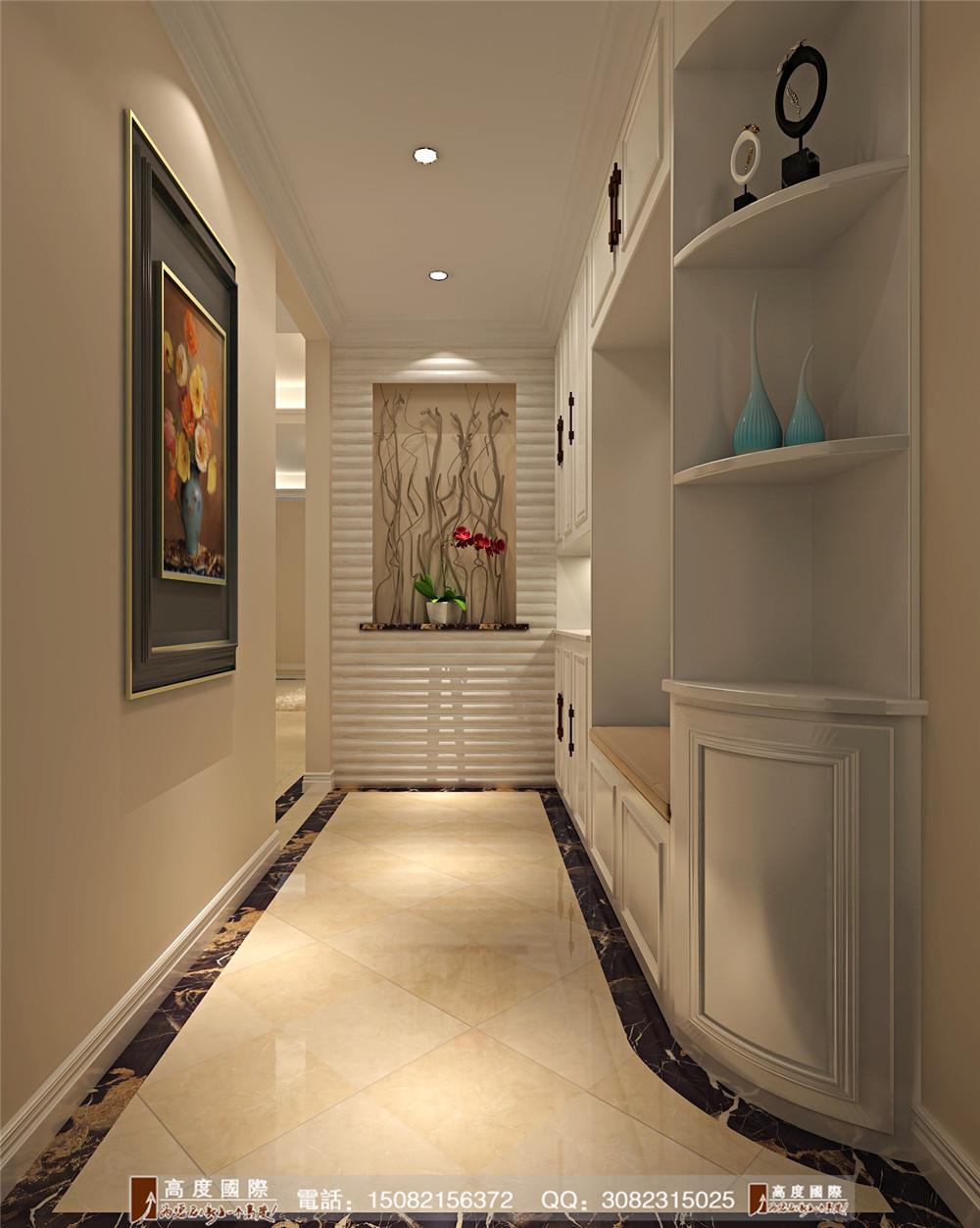 高度国际 新房装修 成都装修 现代风格 玄关图片来自成都高端别墅装修瑞瑞在现代简约感----高度国际装饰设计的分享