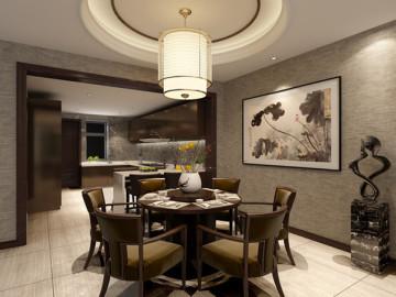 【高清】中式新古典别墅装修设计