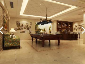 华贸东滩花园370平别墅简美设计