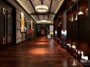 恒业550平别墅装修现代风格设计