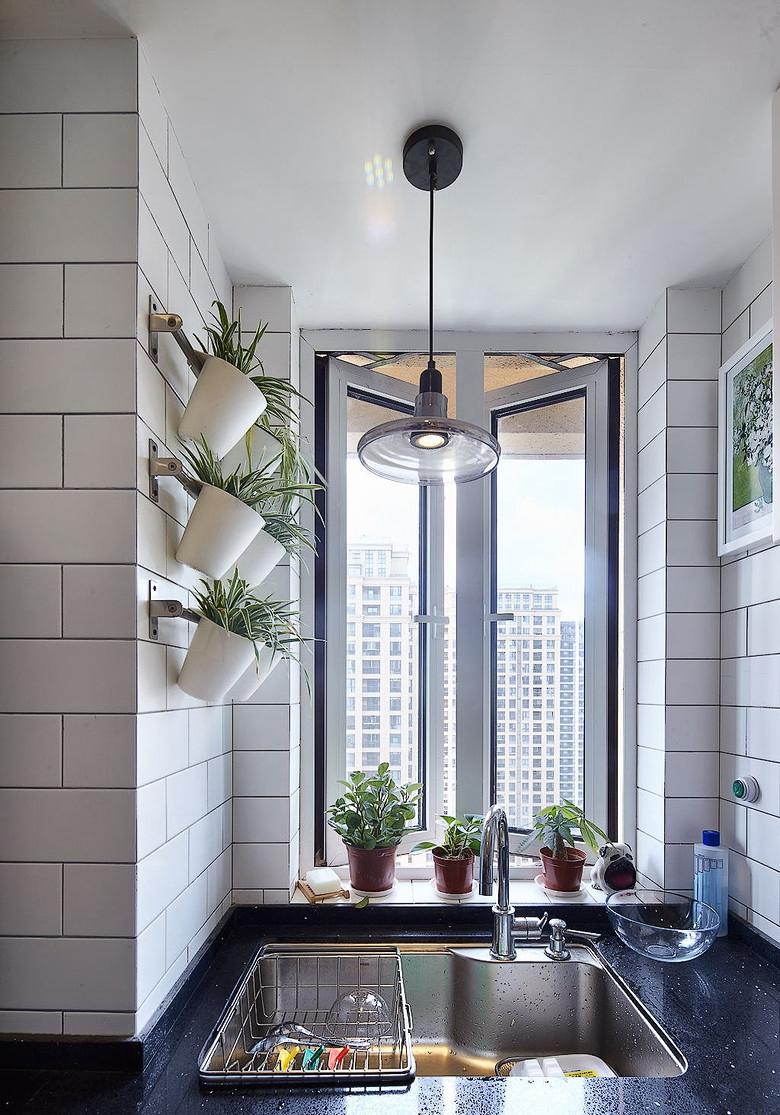 厨房图片来自佰辰生活装饰在85平两室一厅简约小窝的分享