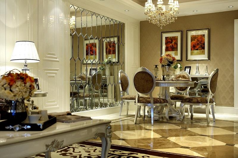 欧式 餐厅图片来自四川建拓建筑装饰工程有限公司在欧式古典的分享