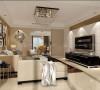 浦东三房公寓现代简约风格设计