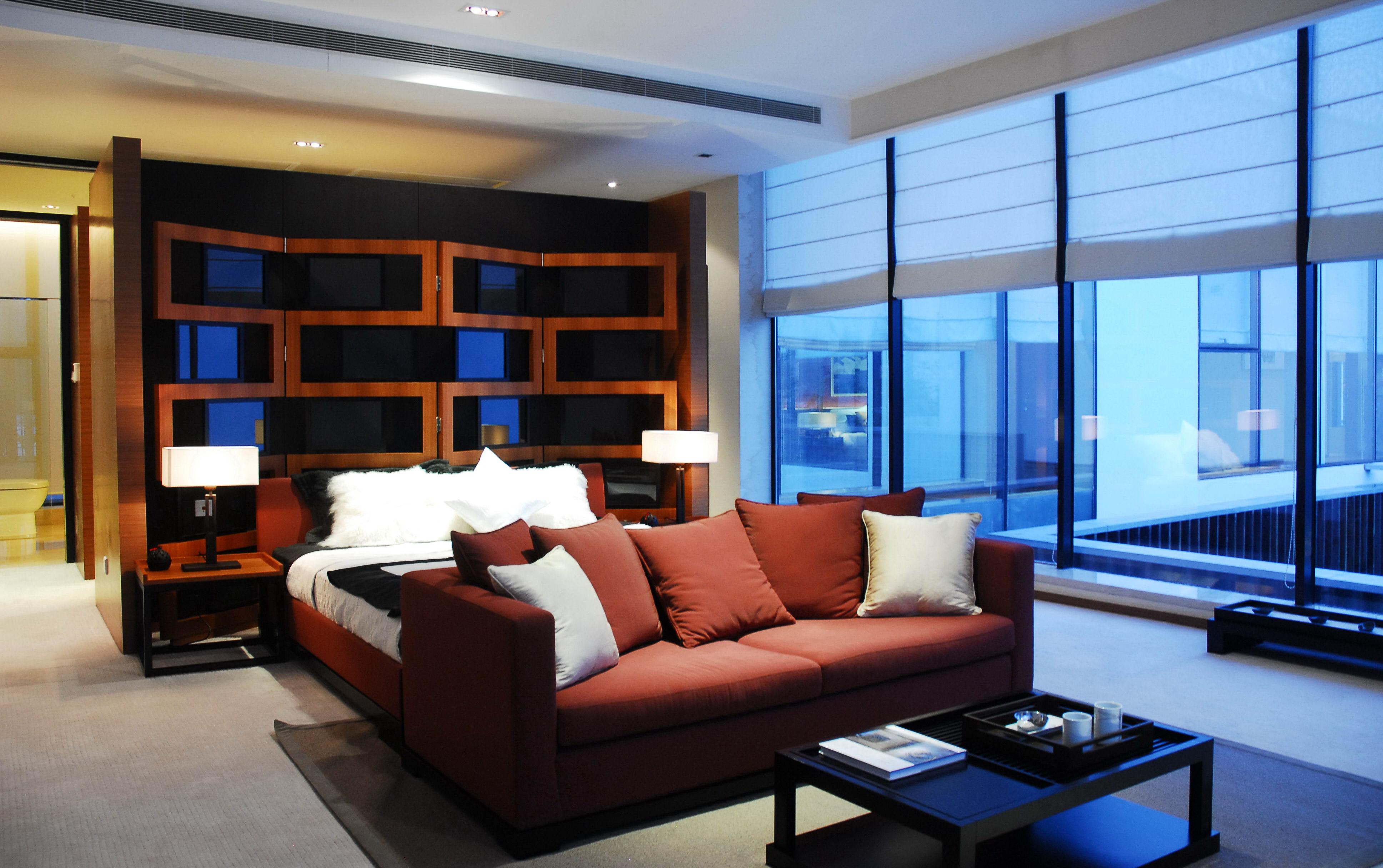 中式 别墅 白领 小资 80后 卧室图片来自北京装修设计o在依云墅之中式风格装修案例的分享