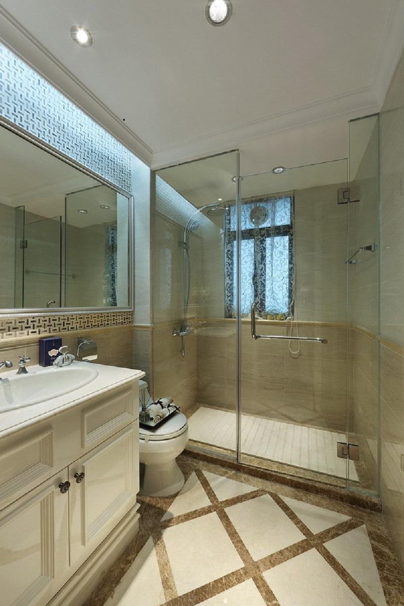 欧式 卫生间图片来自四川建拓建筑装饰工程有限公司在欧式古典的分享