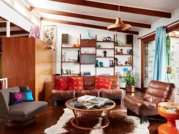 60年代老房子的艳丽与风情!