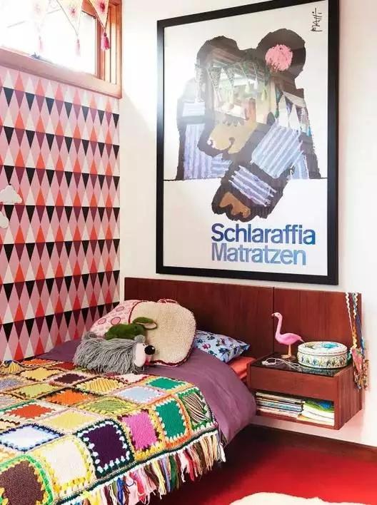 三居 东南亚 客厅 卧室 儿童房 儿童房图片来自实创装饰晶晶在60年代老房子的艳丽与风情!的分享