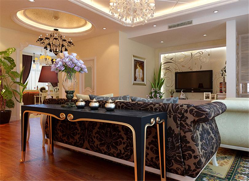 别墅 白领 收纳 旧房改造 80后 小资 客厅图片来自实创装饰完美家装在阳光邑上别墅232平简欧风格鉴赏的分享