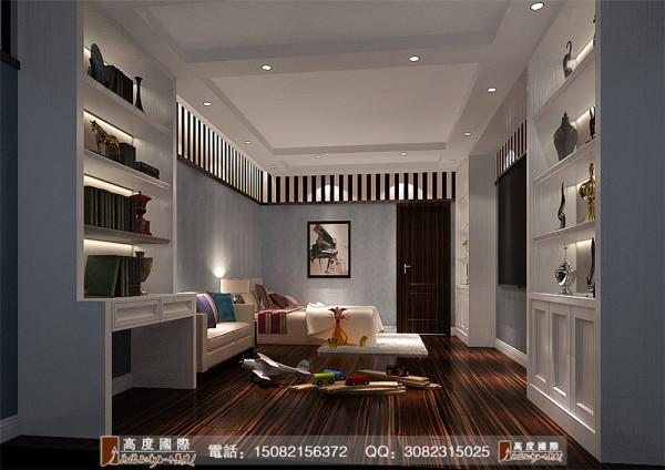蔚蓝卡地亚卧室细节效果图---高度国际装饰设计