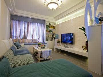 现代简约紧凑二居室