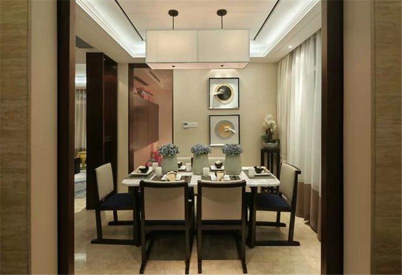 餐厅图片来自湖南名匠装饰在北辰三角洲的分享
