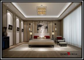 中式 别墅 祥和感 温馨 稳重 自然、清新 卧室图片来自名雕丹迪在中洲中央公园中式别墅的分享