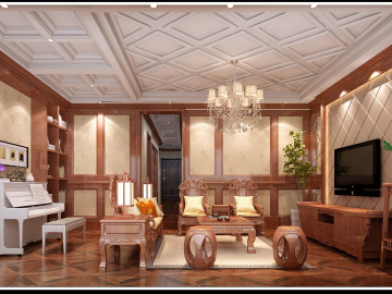 抚州 华萃庭院中式别墅