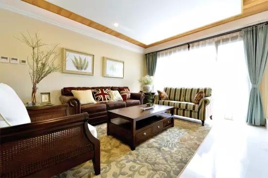 三居 田园 欧式 客厅 卧室 厨房 餐厅 玄关 白色 客厅图片来自实创装饰晶晶在大唐国际130平欧式田园三居之家的分享
