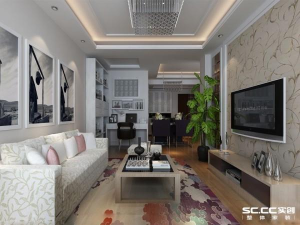 干净简约的线条是屋主对新生活的设计期待。