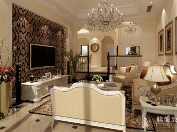富力湾联排别墅美式风格设计