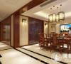 南郊中华园300平别墅装修新中式风格设计方案展示,腾龙别墅设计师孙明安作品,欢迎品鉴!