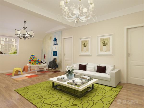 这是这是一套天津金隅悦城91㎡2室1厅1厨1卫。此次设计方案定义为简约风格。