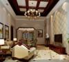 富力湾225平别墅装修美式风格