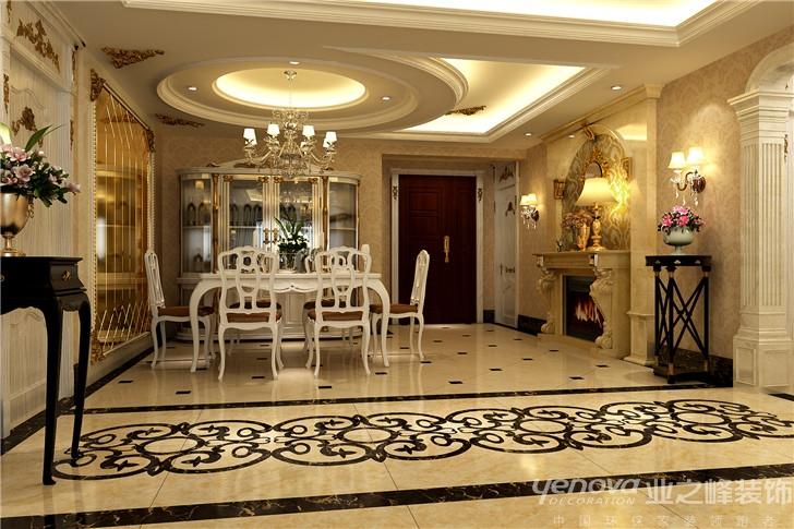 三居 欧式 简约 餐厅图片来自太原业之峰诺华装饰杨丽茹在奢华 洛可可的分享