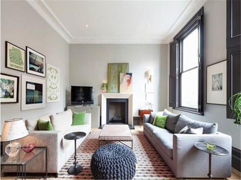 现代 小清新 文艺范 客厅图片来自北京精诚兴业装饰公司在文艺青年的小清新公寓住宅的分享