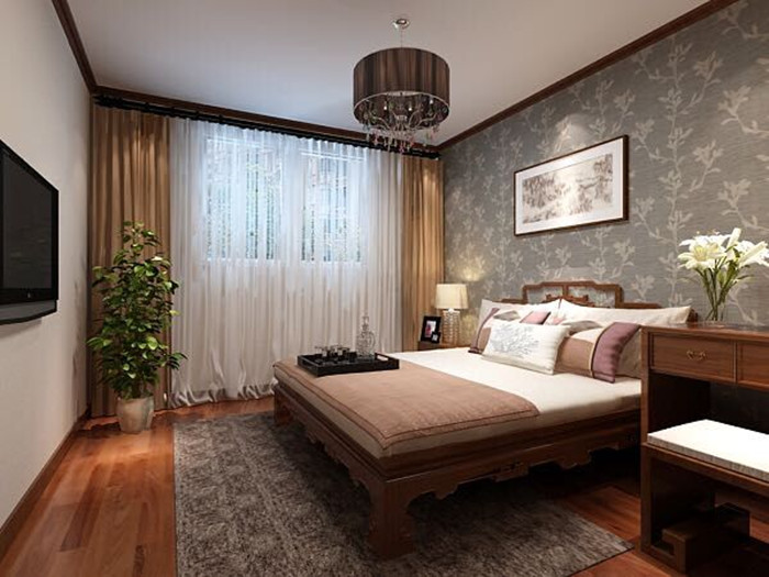 二居 白领 收纳 旧房改造 80后 小资 卧室图片来自今朝老房专家在北欧风格效果图的分享