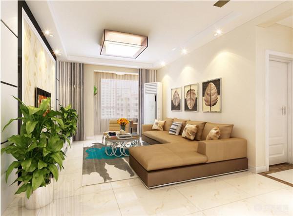 本案为玺岳户型图两室两厅一厨一卫104㎡的户型。这次的设计风格定义为现代简约风格。
