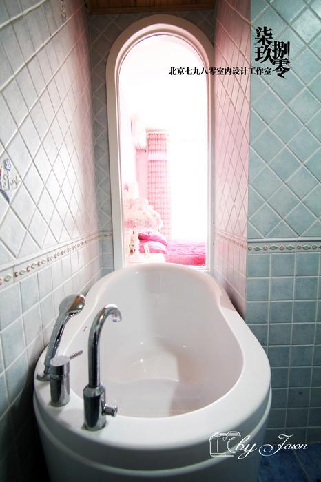 卫生间图片来自四川岚庭装饰工程有限公司在简约地中海设计创造婚房时尚的分享