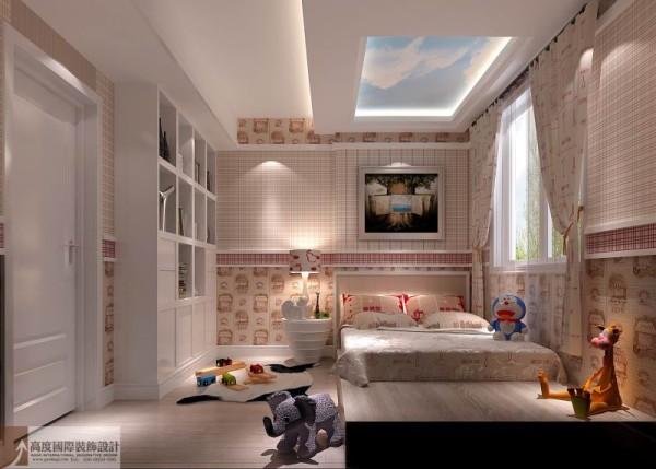 个性现代 高度国际装饰--儿童房