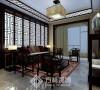 保利达江湾城130平新中式风格