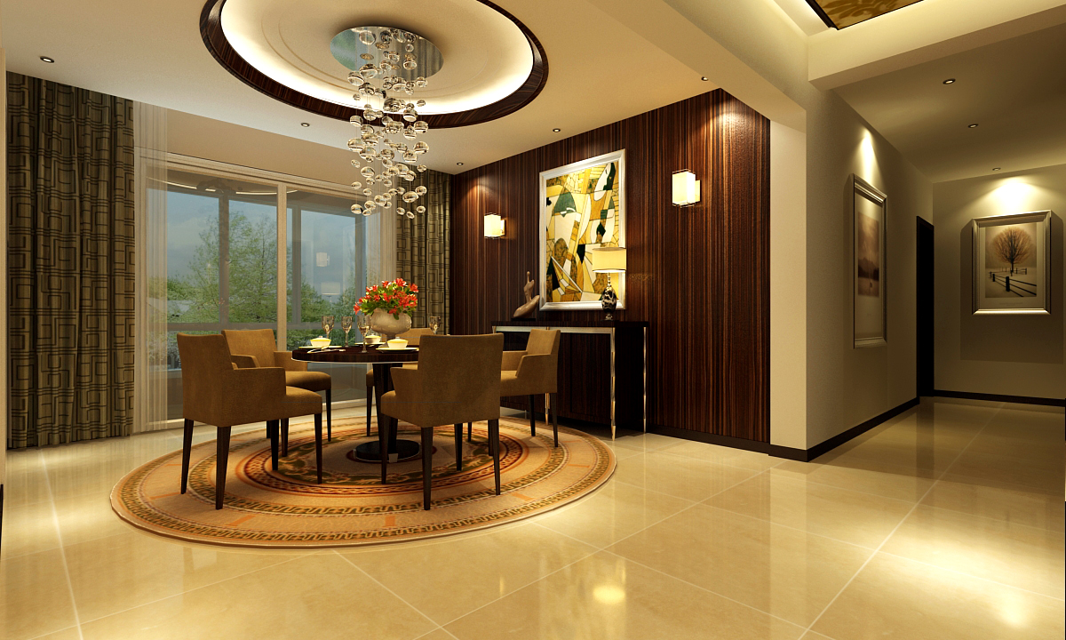 四室 现代 餐厅 餐厅图片来自深圳嘉道装饰在怡景嘉园的分享