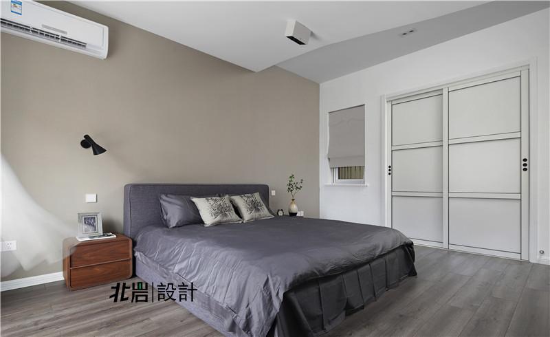 北岩设计 兰亭雅苑 实景照片 现代 简约 跃层 阁楼 卧室图片来自北岩DESIGN在兰亭序•影的分享