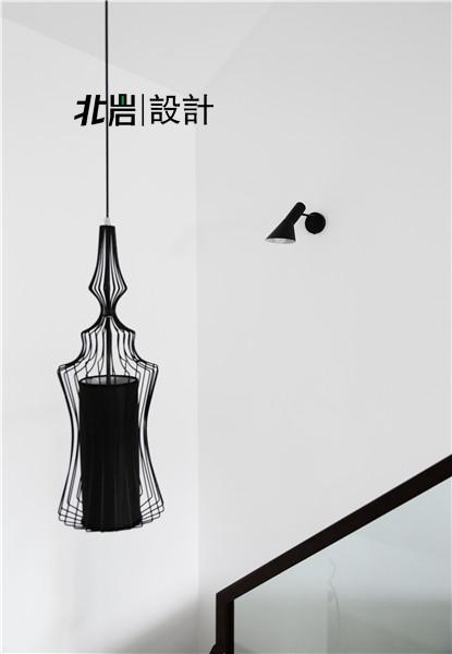 北岩设计 兰亭雅苑 实景照片 现代 简约 跃层 阁楼 楼梯图片来自北岩DESIGN在兰亭序•影的分享