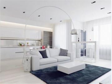 白色简约公寓