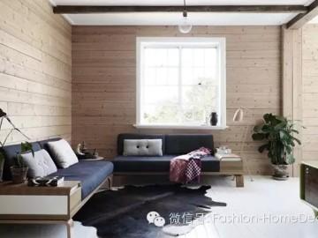 悉尼的白色与木色的清新森系公寓