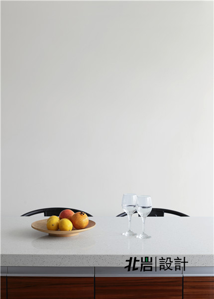 北岩设计 兰亭雅苑 实景照片 现代 简约 跃层 阁楼 厨房图片来自北岩DESIGN在兰亭序•影的分享