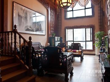 元洲装饰-西山御园现代中式